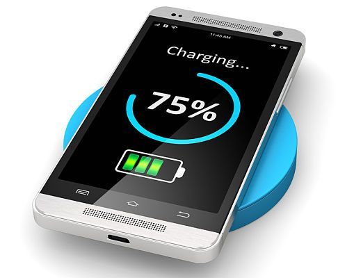 У телефона 75% заряда