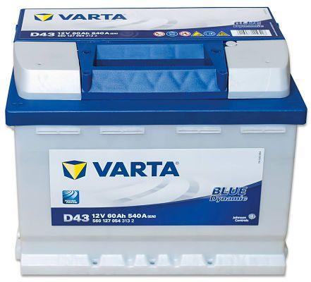 Varta Blue Dynamic D43
