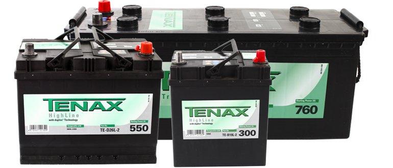 Аккумуляторы Tenax