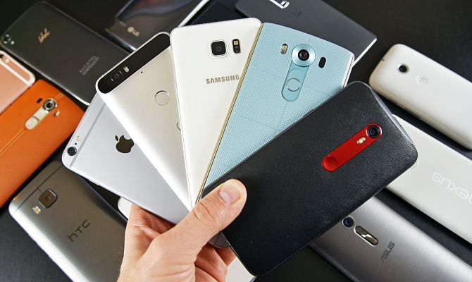 Современные телефоны