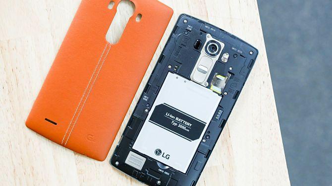 LG Со съемным аккумулятором