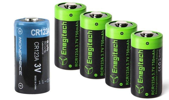 Аккумуляторы и батарейка
