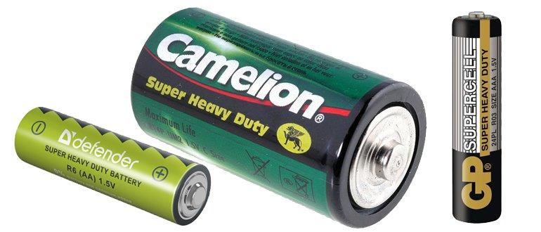 Солевые батарейки