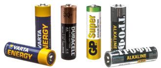 Батарейка AA