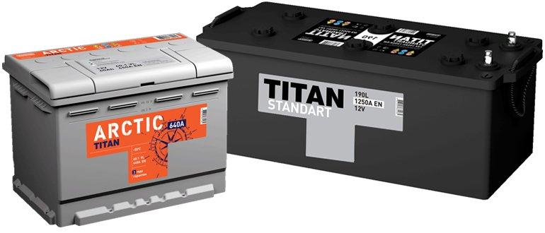 АКБ Titan