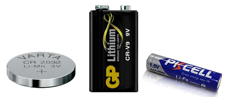 литиевые батарейки