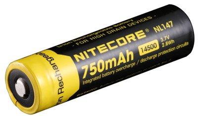 nitecore 750 mAh