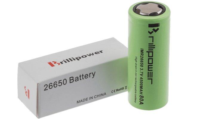 battery 26650