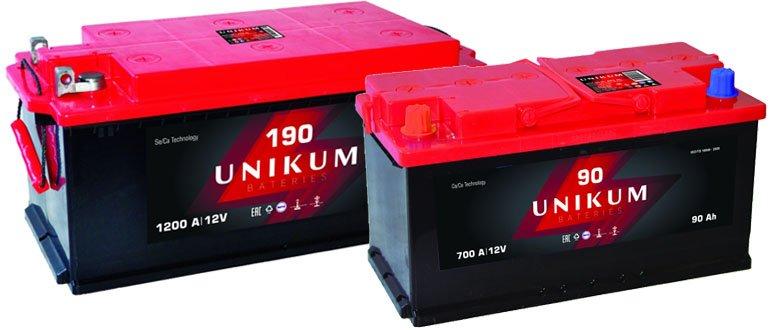 Аккумуляторы Unikum