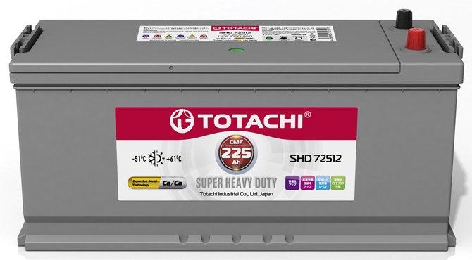 Грузовой аккумулятор Totachi