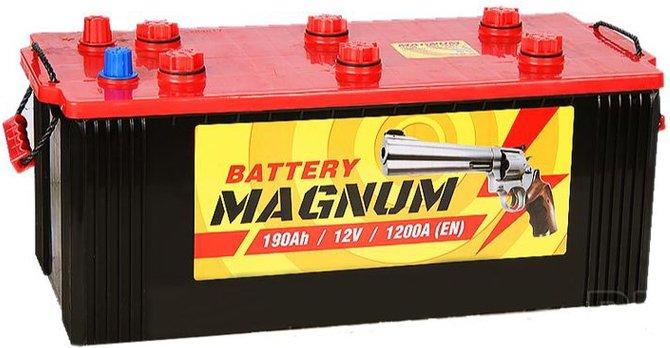АКБ магнум для грузовых автомобилей