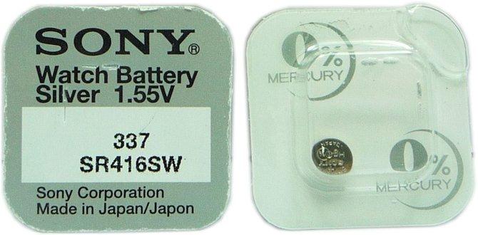 Sony 337 SR416SW