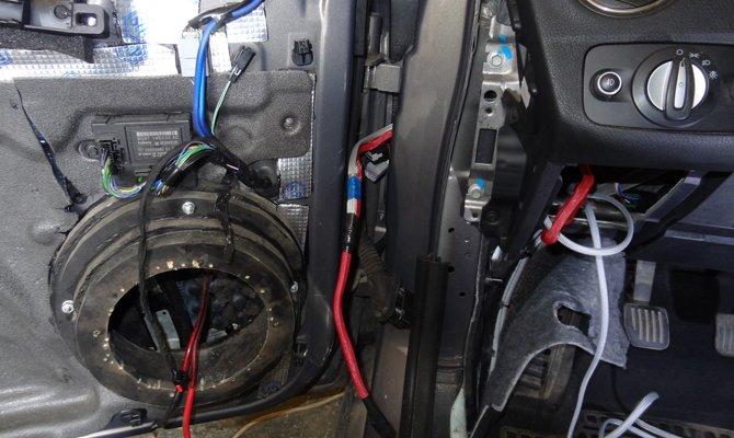 провода в автомобиле